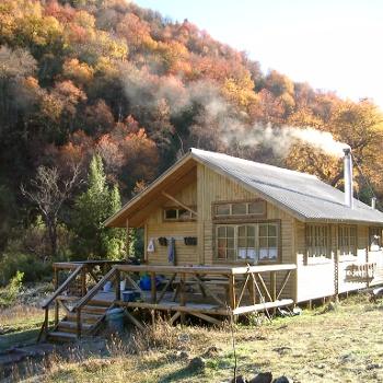 Hütte Trekking Chile
