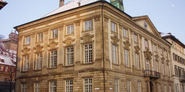 Schleifenroute - Neues Rathaus in Esslingen, ehemaliges Palm'sches Palais