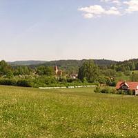 Blick nach Hagenhausen