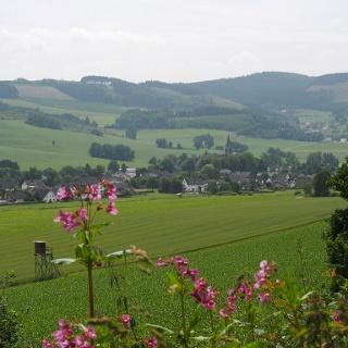 Ausblick auf Reiste in der Ferienregion Eslohe