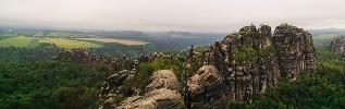 Foto Blick über die Felsen der Schrammtore