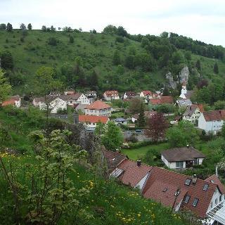 Teilansicht von Seeburg