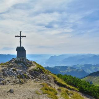 Gipfel des Geigelsteins