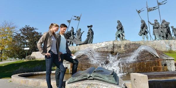 Nibelungenbrunnen, Tulln © Donau Niederösterreich/Steve Haider