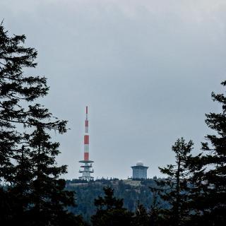 Morgendlicher Aufstieg zum Brocken