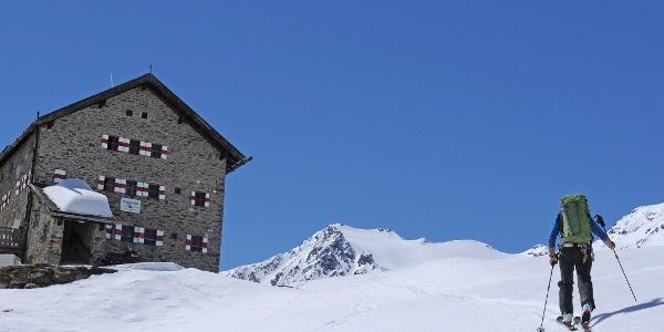 Schlussanstieg zur Martin-Busch-Hütte