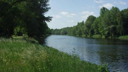 Die Elbe bei Podebrady