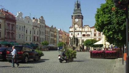 Marktplatz in Pardubice