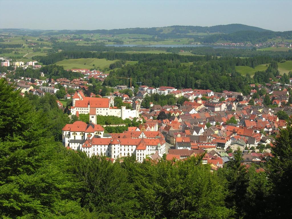 Füssen vom Kalvarienberg (Christel Blankenstein)