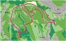 Karte Trupbacher Heide