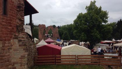 Mittelaltermarkt an der burg