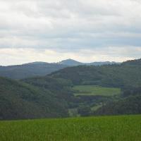 Blick von Sierscheid zur Nürburg
