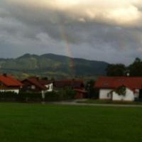 Blick nach Osten in Oy-Mittelberg
