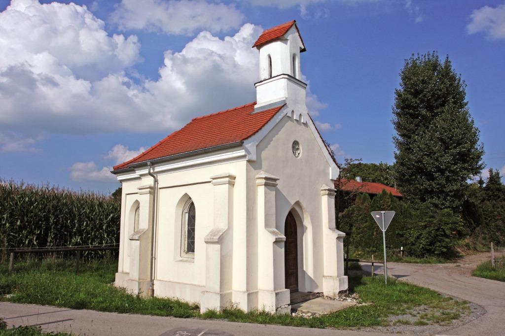 Kapellen in der Gemeinde Rott am Inn