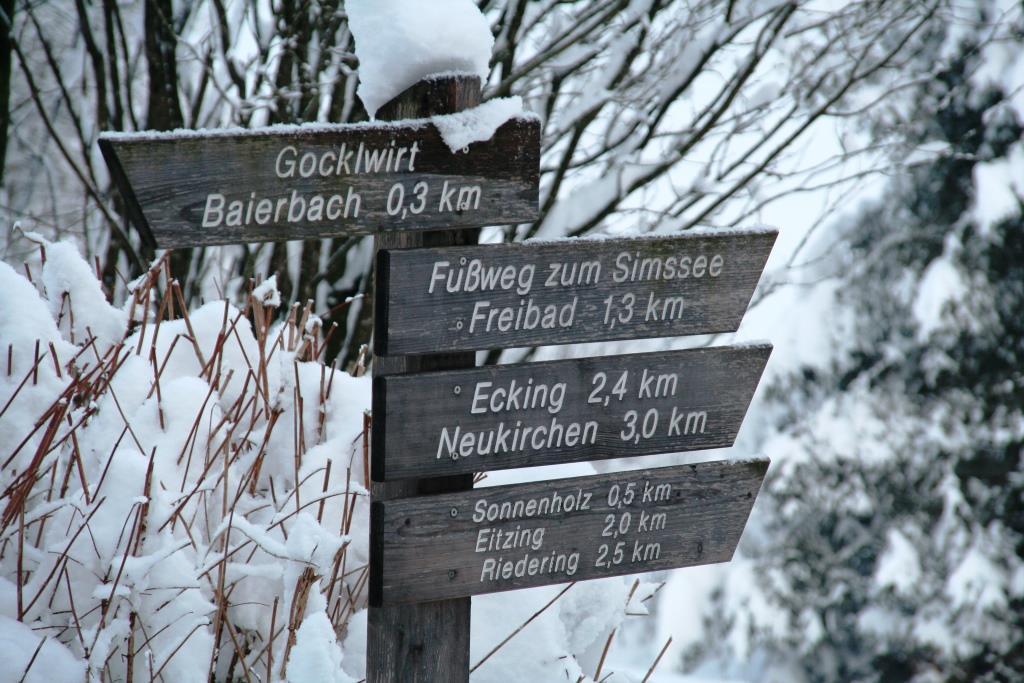 Auch im Winter einen Spziergang wert