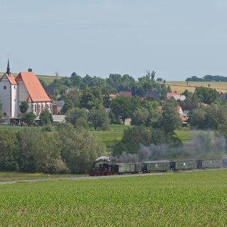Mügeln, Döllnitzbahn