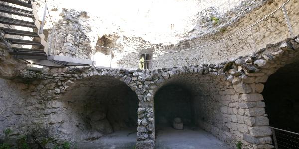 Im Inneren der Bastione