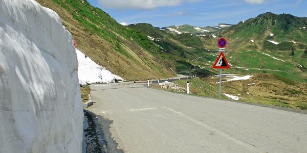 Furkajoch Passstraße Damüls