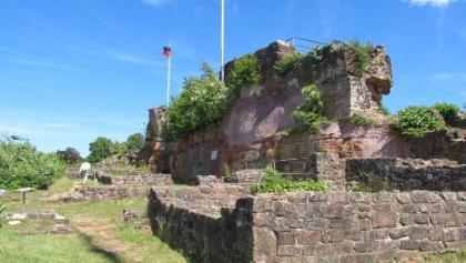 Ruine-Hochenburg