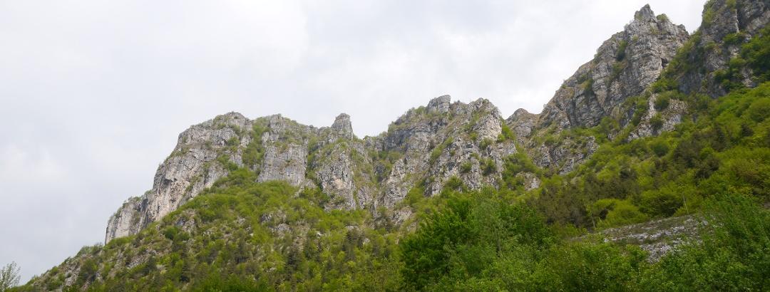 Blick auf den Corna di Caspai