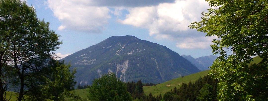 Größtenberg vom Sonnberg 1055m gesehen