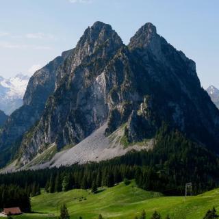 1900 Schweizer Statussymbol! Diese Zwillinge könnten auch gut und gerne im Südtirol stehen