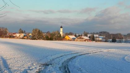 Blick auf Holzhausen