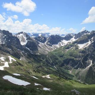 Blick von der Hammerspitze