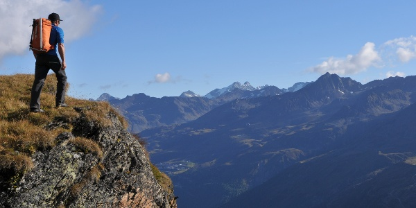 Abstieg vom Ramolhaus nach Obergurgl