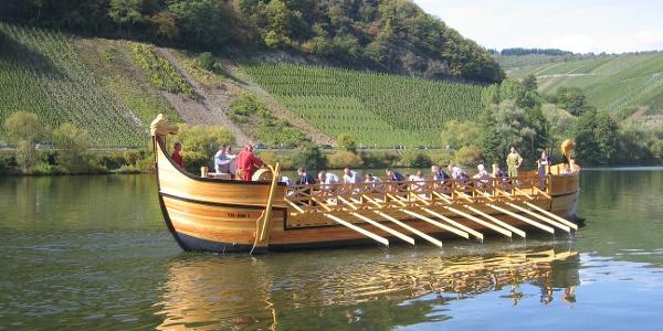 Das römische Weinschiff Stella Noviomagi
