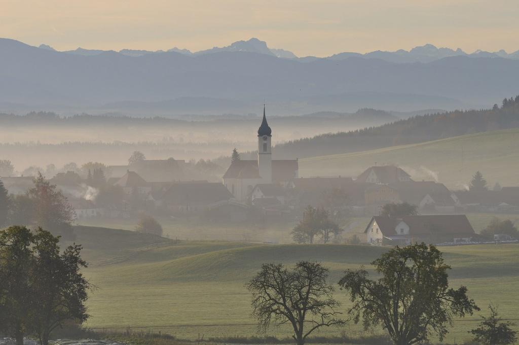 Das Allgäu am Morgen  - @ Autor: Shutterstock/Fotolia  - © Quelle: Shutterstock/Fotolia
