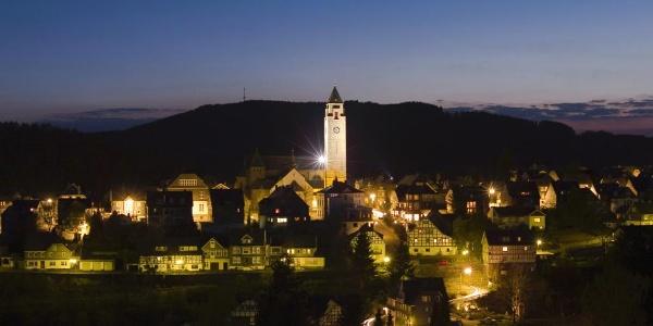 Schmallenberg bei Nacht