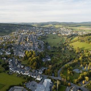 Luftaufnahme über Schmallenberg
