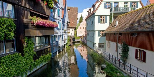 Das Fischerviertel in Ulm