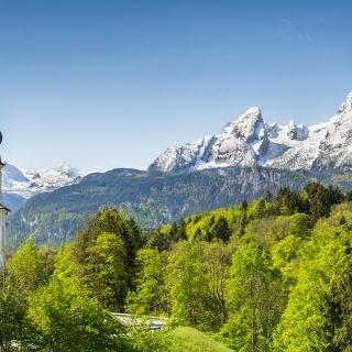 Ausblick bei Berchtesgaden