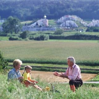 Panoramablick Rogner Bad Blumau