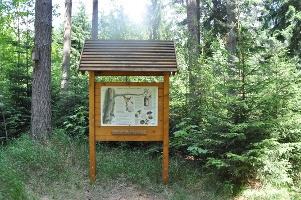 Foto Informationstafel am Fuchsteich