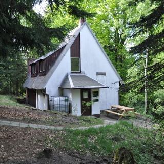 Trekkinghütte Grenzbaude im Forstrevier Rosenthal