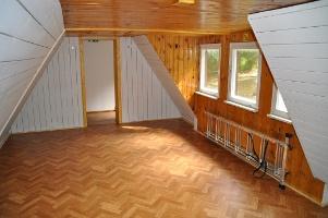 Foto Schlafboden im Obergeschoss mit bis zu 10 Schlafplätzen
