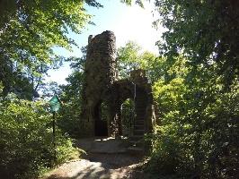 Foto Schlossruine Schomburg oberhalb von Bad Schandau
