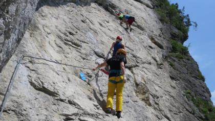 Klettersteig C : Die schönsten klettersteige in kufstein