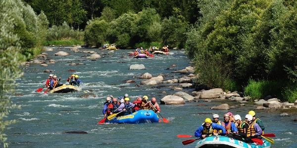 Avisio Rafting
