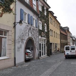 Vollständig sanierte Judengasse in der Altstadt