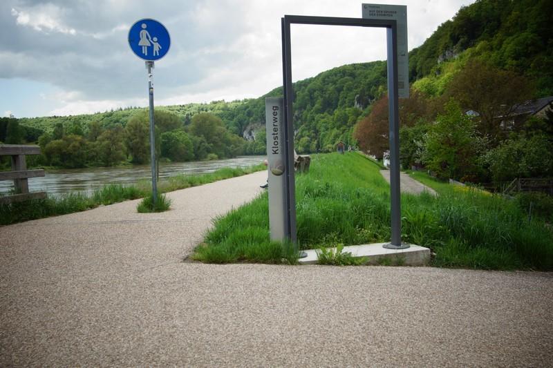 Die DonauPforten - Klosterweg