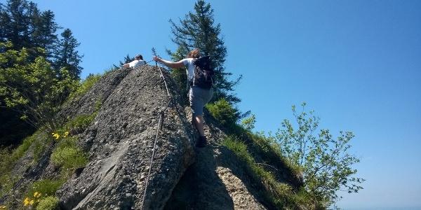 On the ridge of Hochhäderich