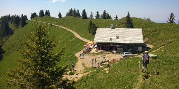 The mountain inn Hochhäderich