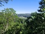 Foto Ausblick vom kleinen Schlosstürmchen Schomburg