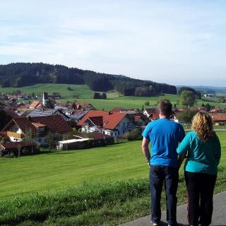 Blick über Hopferbach
