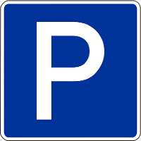 Parkplatz am Weser-Skywalk