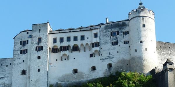 Festung Hohensalzburg auf dem Festungsberg